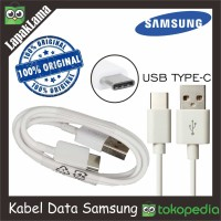 Kabel Data Chargeran Samsung Note 8 Original 100% USB Cable TYPE-C