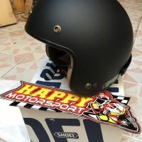 Helm Shoei Black Matt original Japan Classic Series MASH-X size L ori