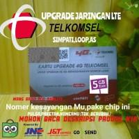 Upgrade 4g Telkomsel Simpati + As + Loop + Apgred Kartu 4 g Telkomsel