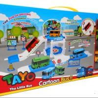 TAYO PARKING AREA - MAINAN Tayo LITTLE Mobil BUS TAYO