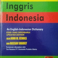 Kamus Bahasa Inggris JOHN ECHOLS Hardcover