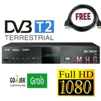RECEIVER/DEKODER SET TOP BOX TV DIGITAL DVBT2 SKYBOX H-1