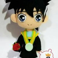 Boneka Wisuda Detective Conan Ran & Shinichi 30cm