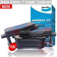harga Mazda Astina (r) Bendix Brake Pad (kampas Rem Mobil) -tdc Variasi Tokopedia.com