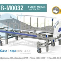 Acare Hospital Bed / Ranjang Pasien - 3 Crank Manual Limited