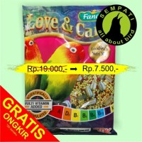harga Pakan Burung Lovebird Nutrimix Fancy Love & Care Tokopedia.com