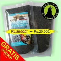 harga Pakan Burung Kenari Finch Blackthroat Blue Seed Probird Tokopedia.com