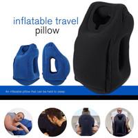 Jual bantal angin tiup, smart travel pillow, camping, advanture, hikking Murah