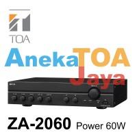 TOA ZA-2060 AMPLIFIER MIXER POWER 60 WATT 100% ORIGINAL ZA2060 ASLI