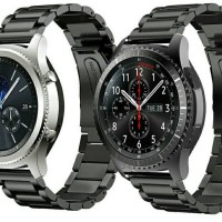 harga Strap Samsung S3 Gear Stainless Steel - Tali Jam Samsung S3 Frontier Tokopedia.com