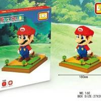 Jual Lego NanoBlock LNO Super Mario Bros 159, 160, 161 Murah