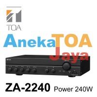 MIXER AMPLIFIER TOA ORIGINAL ZA-2240 POWER 240 WATT ASLI 100%