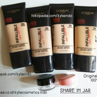 SHARE IN JAR - LOREAL / L'OREAL INFALLIBLE PRO MATTE FOUNDATION