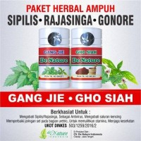 Obat Sipilis Ampuh Gang Jie Ghosiah Herbal Denature