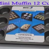 Loyang / Cetakan Anti Lengket 12 Cup Mini Muffin
