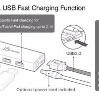USB 3 0 4 port Mini Hub JUH340 J5Create TERLARIS