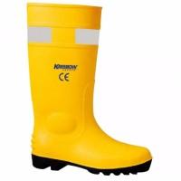 Sepatu Safety Boot PVC Kuning 44 Krisbow KW1000582