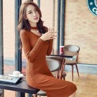 Hot Produk Dress Viva Mutiara Bata Ro Dress Wanita Rajut Stret Merah
