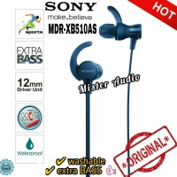 SONY MDR XB510AS / XB 510AS EXTRA BASS Sports Earphones Original