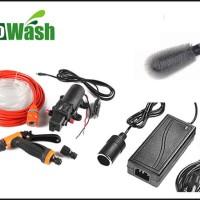 Jual Car Wash Pump Kit 12V 75W 116PSI ( Paket Completed Set ) Eco wash Murah