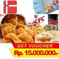 Voucher KFC Rp 15.000.000