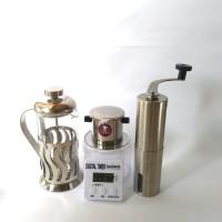 Jual Personal Coffee Maker 1 Set Alat Penggiling Kopi grinder vietnam Drip Murah