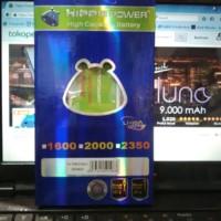 aksesoris hp / tablet Hippo Baterai Samsung - Note 4 3850 MAH