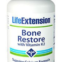 LIFE EXTENSION BONE RESTORE WITH VITAMIN K2 120 CAPS