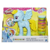Play-Doh My Little Pony Rainbow Dash Style Salon Set Original 100%