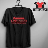 Kaos/ Tshirt Al Akhira Murah Keren