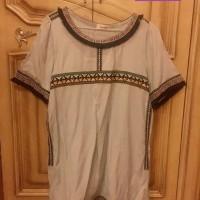 Baju Bordir Blouse Atas Wanita Kode BHM01