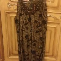 Baju Long Dress Wanita Warna Hitam BTD02