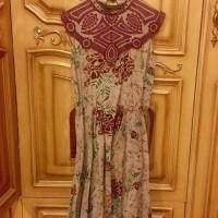 Baju Long Dress Batik Keren BTD01