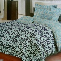 Seprei Katun + Bed Cover M Sprei Alas Kasur Size 120 x 200 x 20cm