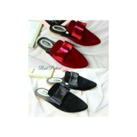 harga Sepatu Sandal Wanita/sendal/kerja/casual/flat Pita Ukd2 Tokopedia.com
