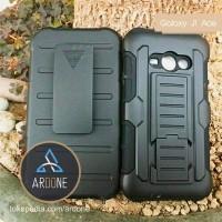 harga Samsung Galaxy J1 Ace | Holster Rugged Future Armor Hybrid Case Tokopedia.com
