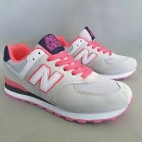 Sepatu Sneakers Casual New Balance 574 Size 37 - 41 Light Gray