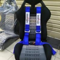 harga Jok Racing Bride Cuga + Seat Belt Bride Tokopedia.com