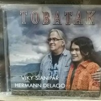 CD Original TOBATAK . VIKY SIANIPAR , HERMANN DELAGO .