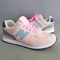 harga Sepatu Sneakers Casual New Balance 574 Size 37 - 41 Soft Pink Tokopedia.com