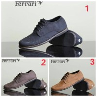 harga Sepatu Sneaker Pria Sepatu Ferrari Mater Casual Tokopedia.com