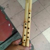 seruling bambu, suling bambu