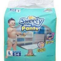 Popok Sweety Silver Pants L54 Type Celana