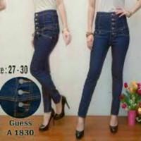 celanA panjang wanita/skinny/soft jeans/streetch/kancing tengah 5