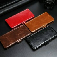 LUXURY Flip Cover Vivo V5 Y67 V5s Lite Wallet Leather Case Casing HP