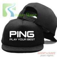 Topi Snapback Ping Golf Trucker Baseball - Reove Store