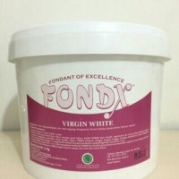 Fondx virgin white, fondant of excellent repack 1kg