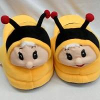 harga Sandal Boneka Sandal Rumah Sandal Tidur Dewasa Hachi Lebah Tokopedia.com