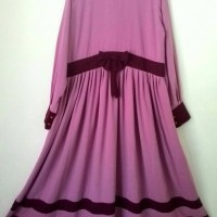 set gamis list dustypink