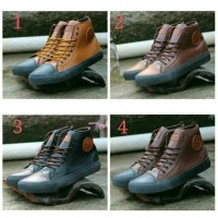 harga Sepatu Sneaker Pria Sepatu Converse Metal Combine Tokopedia.com